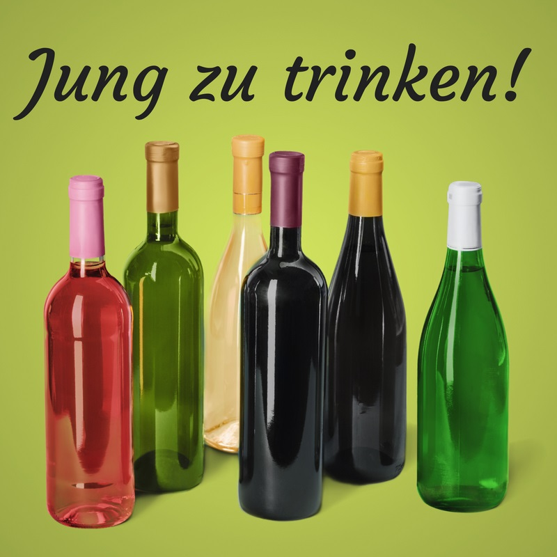 jung zu trinken