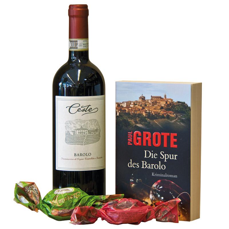 GK Barolo mit Weinkrimi & Amaretti morbidi ohne Verpackung